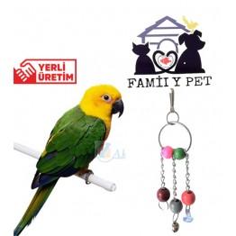 Familypet  Muhabbet Kuşları için Üçlü Sarkaç