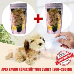 Apex Yavru Köpek Süt Tozu 200 Gr 2 Adet