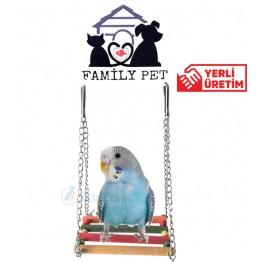 Familypet Muhabbet kuşları için yatay salıncak