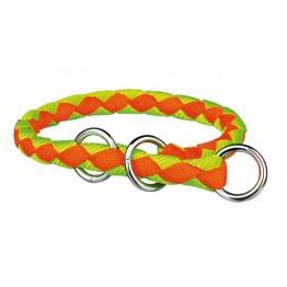 Trixie Köpek Yarı Şok Boyun Tasma M:39-45Cm12Mm (Turuncu-Yeşil)