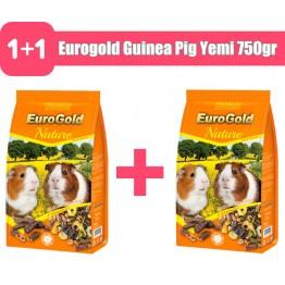 Eurogold Guinea Pig Yemi 750gr 2 adet
