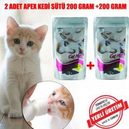 Apex Yavru Kedi Süt Tozu 200 Gr 2 Adet