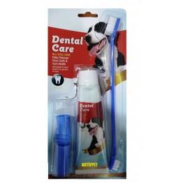 Dental Köpek Diş Macunu ve Bakım Seti 3 Lü