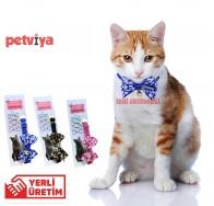 Petviya Papyonlu Kedi Boyun Tasmaıs 18-27 cm