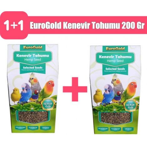EuroGold Kenevir Tohumu 200 Gram 2 adet