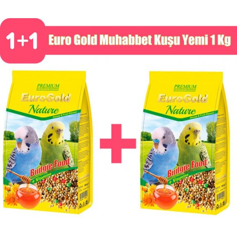 Euro Gold Muhabbet Kuşu Yemi 1 Kg 2 adet