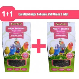 EuroGold nijer Tohumu 250 Gram 2 adet