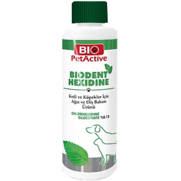 Pet Active Biodent Hexidine Ağiz Ve Diş Bakim Solüsyonu 250 ml