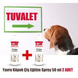 Pet Active Puppy Trainer Yavru Köpek Çiş Eğitim Sprey 50 ml 2 ADET