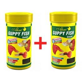 Ahm Guppy Granulat Lepistes Balık Yemi 100 ml 2 ADET