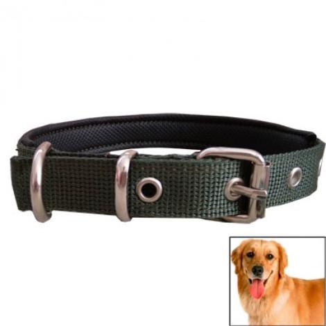 Yumuşak Dokulu Köpek Boyun Tasmasi Yeşil