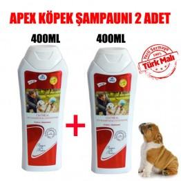 Apex  Köpekler için Yulaf Özlü Lavantalı Şampuan 400 Ml 2 ADET