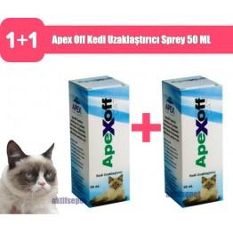 Apex Off Kedi Uzaklaştırıcı Sprey 50 ML 2 Adet