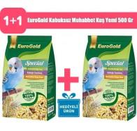 EuroGold 2 adet Kabuksuz Muhabbet Kuş Yemi 500 Gr