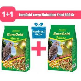 EuroGold Yavru Muhabbet Yemi 500 Gr 2 Adet