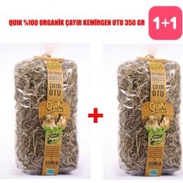 Quik %100 Organik Çayır Kemirgen Otu 350 gr 2 ADET