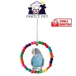 Familypet Muhabbet Kuşu Halka Salıncak