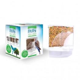Fit Fly Küçük Irk Kafes Kuşları İçin Akıllı Yemlik