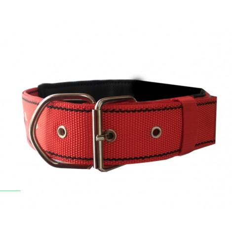 Köpek Boyun Tasması  Kırmızı 4.5 mm 75 cm