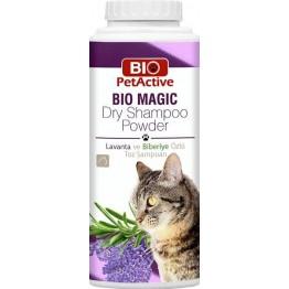 Pet Active Bio Magic %100 Doğal Kediler Için Kuru Toz Şampuan 150 Gr
