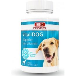Pet Active Vitalidog Köpekler Için Multivitamin Tablet 150 Adet