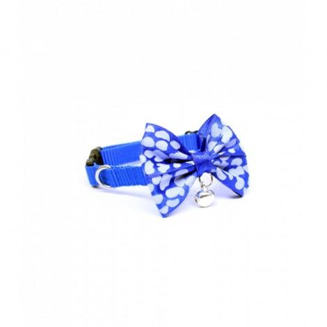 Petviya Papyonlu Kedi Boyun Tasması Mavi